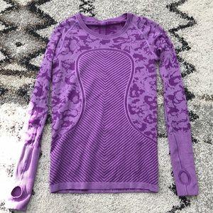 LuLuLemon swiftly size 8 purple